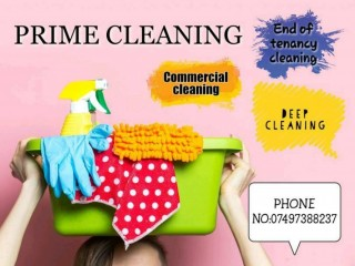 Comercial cleaning, House cleaning