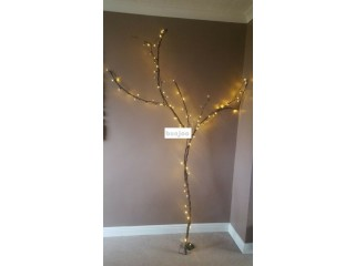 Pre-lit Tree/branches with battery lights for sale
