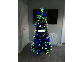 Fiber optic Christmas tree 6ft for Sale