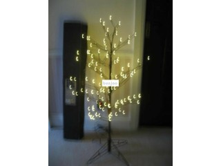 Stewart's outdoor Christmas twig tree  4ft 120 led lights pre lit - Southbourne