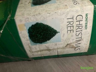 6ft B & Q Christmas Monterrey tree retailed at £130
