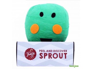 Peel and reveal sprout