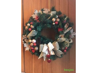 Gorgeous bespoke Christmas wreath