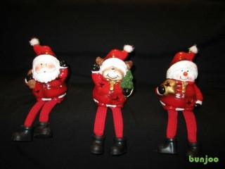 Reindeer (with flexible legs), 3 Light Up Christmas Characters
