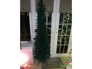 6ft pencil Christmas tree