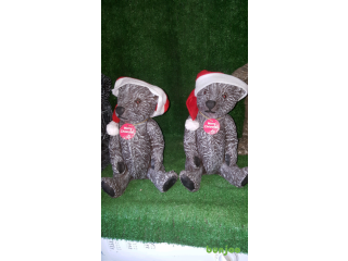 Christmas teddy bear garden ornaments