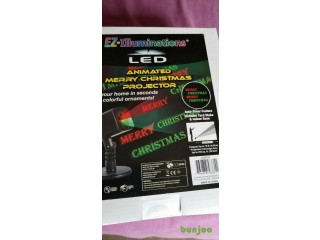 MERRY CHRISTMAS LED PROJECTOR