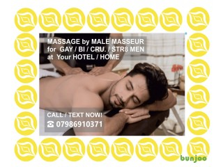 ★MALE MASSEUR Offers MASSAGE★ FOR MEN to Your HOTEL /HOME
