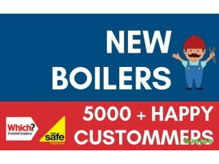 Supply & Fit /Boiler Installation,Repair&Service/Plumbing&Heating Replacement/Gas Engineer ( From £949 )