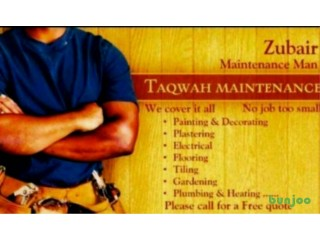 Taqwah plumbing and heating, bathroom, Flooring/carpentry