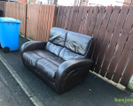 excellent-condition-dark-dark-brown-leather-2-seater-sofa-proper-leather-hyde-85-small-1