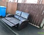excellent-condition-dark-dark-brown-leather-2-seater-sofa-proper-leather-hyde-85-small-0