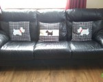 excellent-condition-large-black-leather-sofa-can-be-seen-in-hillington-glasgow-small-0