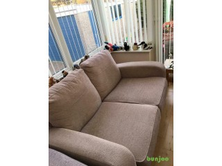 Large two seater sofa For Sale