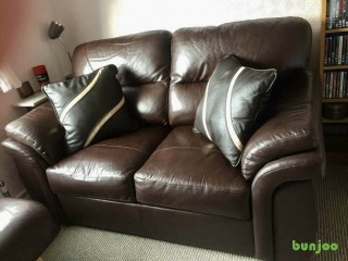 Two Seater Leather SofaVery good condition