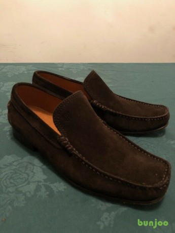 for-sale-mens-gant-brown-suede-loafers-size-8-50-ono-big-4