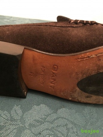 for-sale-mens-gant-brown-suede-loafers-size-8-50-ono-big-0