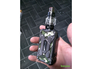 Mechman vape with batteries swaps