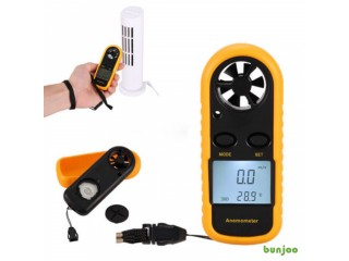 GM816 Digital LCD Wind-Speed Velocity Airflow Gauge Meter Anemometer Thermometer