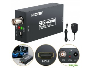 HDMI Over Single Coaxial Extender BNC Converter 3G HDMI to SDI Box Video Adapter