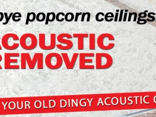 Acoustic Ceiling Removal Fillmore