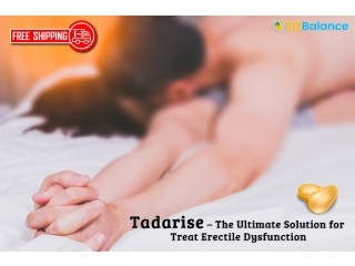 Buy tadarise tablets with the lowest price at EDBalance.