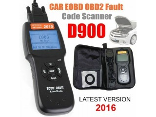 D900 Diagnostic Scanner Reader Auto Car OBD2 OBDII EOBD Fault Code CAN Scan Tool