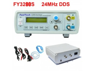FY3200S 24MHz Digital DDS 2-Channel Arbitrary Function Signal Generator Meter