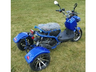 Brand new 50cc Trike Mean Dogg II Scooter Gas Moped