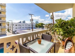 Miami Beach: 2/2 Spacious apartment (Meridian Ave., 33139)
