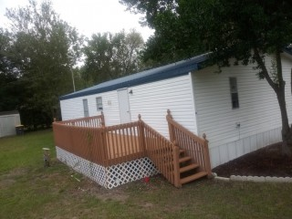 Mobile Home 24x48 1/2 acre Land