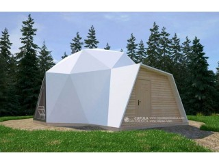 Prefabricated Geodesic Dome Home for any land
