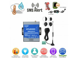 RTU5023 Wireless SMS Remote Alarm System Temperature Monitorin GSM Timer Control